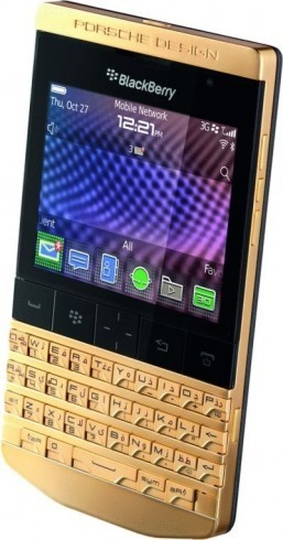 Latest Porsche-designed BlackBerry comes in very limited edition