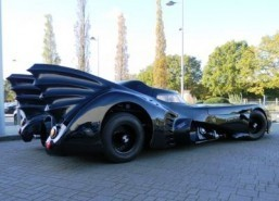 Batmobile replica heading to auction