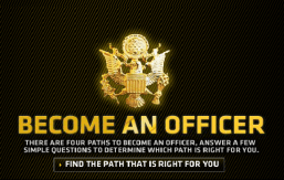 Need money for college?  Consider joining the Army