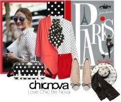 Top trend: polka dot blouses