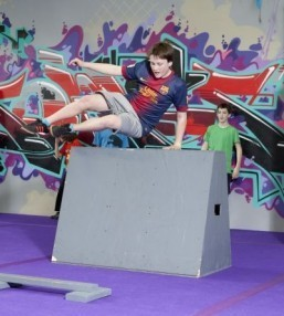 What's hot: parkour-specific gyms