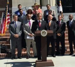 Assemblymembers unite in LA to urge Brown to sign medical marijuana legislation