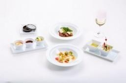 Japan Airlines intros summer menu by Hiroki Yoshitake