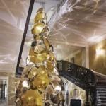 Christopher Bailey's Claridge's Christmas tree revealed