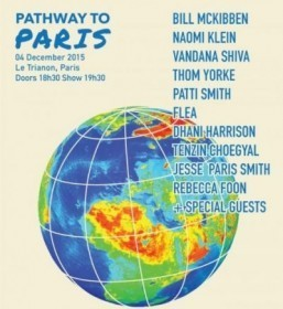 Patti Smith and Thom Yorke among acts announced at Pathway to Paris