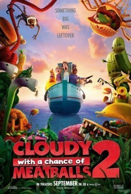 Sun shines on 'Cloudy With Chance of Meatballs' sequel