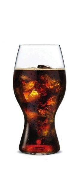 New glassware designed to enhance flavors of Coca-Cola