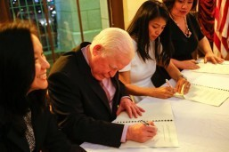 FYLPRO signs 3-year MOU with Ayala, DFA, launches application for 2016 Immersion Program to PHL