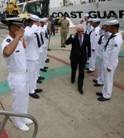 """We are for Peace but be Prepared to Defend PH Territory,"" Cuisia Tells Crew of Ramon Alcaraz"