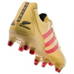 Adidas unveils 'golden' Dan Carter rugby boots