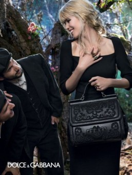 Claudia Schiffer is the life of the party in Dolce & Gabbana campaign