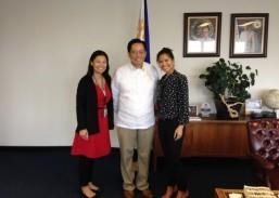 Filipino pediatrician at Children's Hospital Los Angeles pays courtesy call on ConGen Herrera-Lim