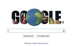 Google Doodle and animal quiz marks Earth Day 2015