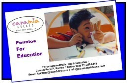 Cara Mia Gelato launches 'Pennies For Education'