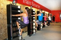 New techy gym offers a workout on a wall
