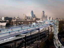 SkyCycle ©Foster + Partners all rights reserved