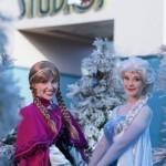 'Frozen' characters arrive at Disneyland Resort California