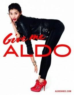 Terry Richardson shoots shoes for Aldo