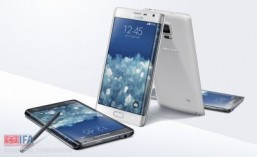 Samsung throws a curve ball with new bent screen phablet