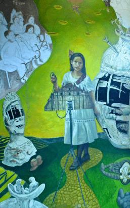 Fil-Am artist Eliseo Art Silva shows art at Downtown Artwalk
