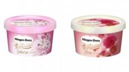 Haagen-Dazs Japan releases commemorative floral flavors