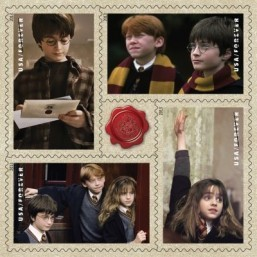 Harry Potter stamps rattle US philatelists