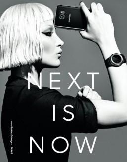 Samsung teases new Gear smartwatch in modern fashion shoot