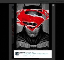 Official 'Batman v Superman' posters unveiled on Twitter
