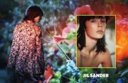 Jil Sander Spring-Summer 2014 campaign stars Edie Campbell, Ben Waters