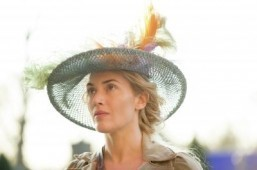 Kate Winslet meets the French monarch in 'A Little Chaos'