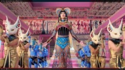 Katy Perry premieres Egyptian-themed 'Dark Horse' video