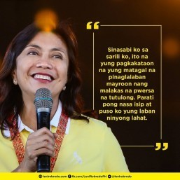 Robredo 'seriously concerned' over Duterte's recent statements on West PH Sea