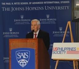 Sen. Lugar extols strong, longstanding PHL-US ties