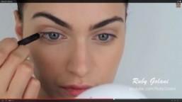 Makeup with eyeglasses: beauty tutorials