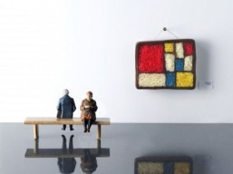 Piet Mondrian edible replica ©Food styling by Kim Morphew, prop styling by Lydia Brun, photography by Maja Smend