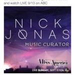 Nick Jonas named as Miss America Music Curator
