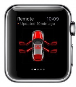 Cars that are already Apple Watch-ready