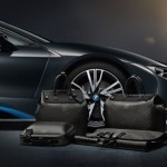 Louis Vuitton's tailor-made luggage for the new BMW i8