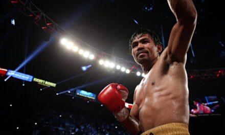 Pacquiao announces August clash vs. Spence