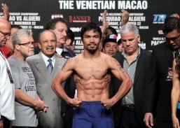 Pacquiao fight not set yet, Mayweather says