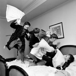 Luxury Parisian hotel traces link to the Beatles in photo exhibit