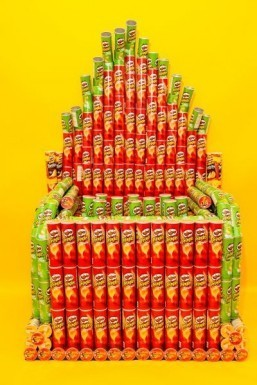 Once you pop, you can't stop: designers create organ made from Pringles cans