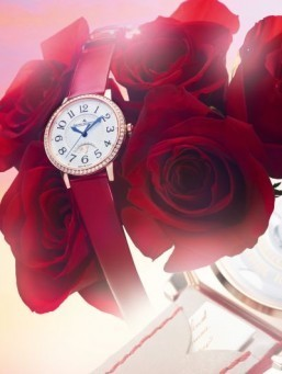 Jaeger-LeCoultre presents Valentine's Day edition of Rendez-Vous watch