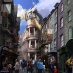 New to Harry Potter theme park: Hogwarts Express train and Diagon Alley