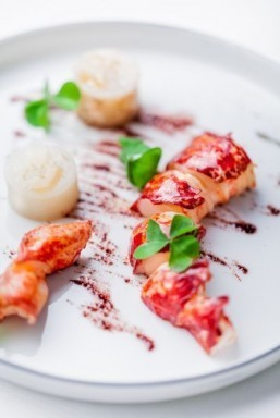 Holiday recipes from top Paris chefs: Lobster and Jerusalem artichokes by Christophe Saintagne at Le Meurice