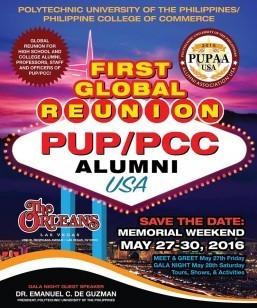 PUP/PCC Alumni USA to hold 1st Global Reunion