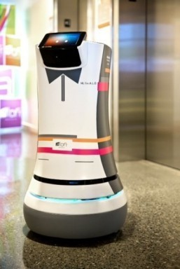 R2-D2-like robot butler rolls out at Cupertino hotel