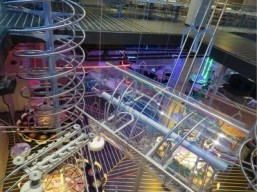Abu Dhabi mall opens world's largest roller coaster-inspired restaurant