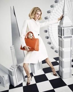 Rosamund Pike's L.K.Bennett bag design revealed in new campaign