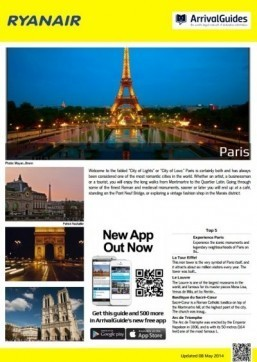 Ryanair launches its online travel guides